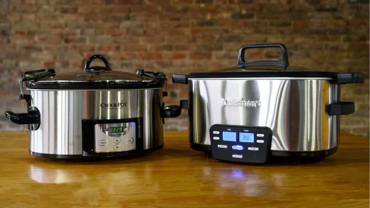 Slow Cooker and Crock Pot
