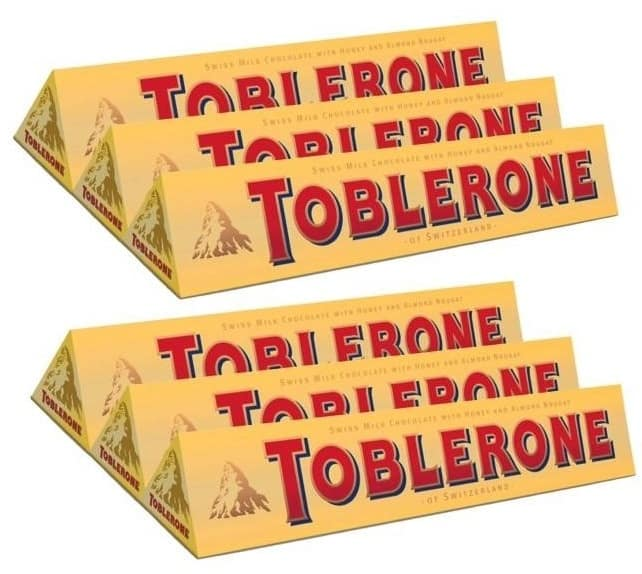 Toblerone Milk Chocolate Bars