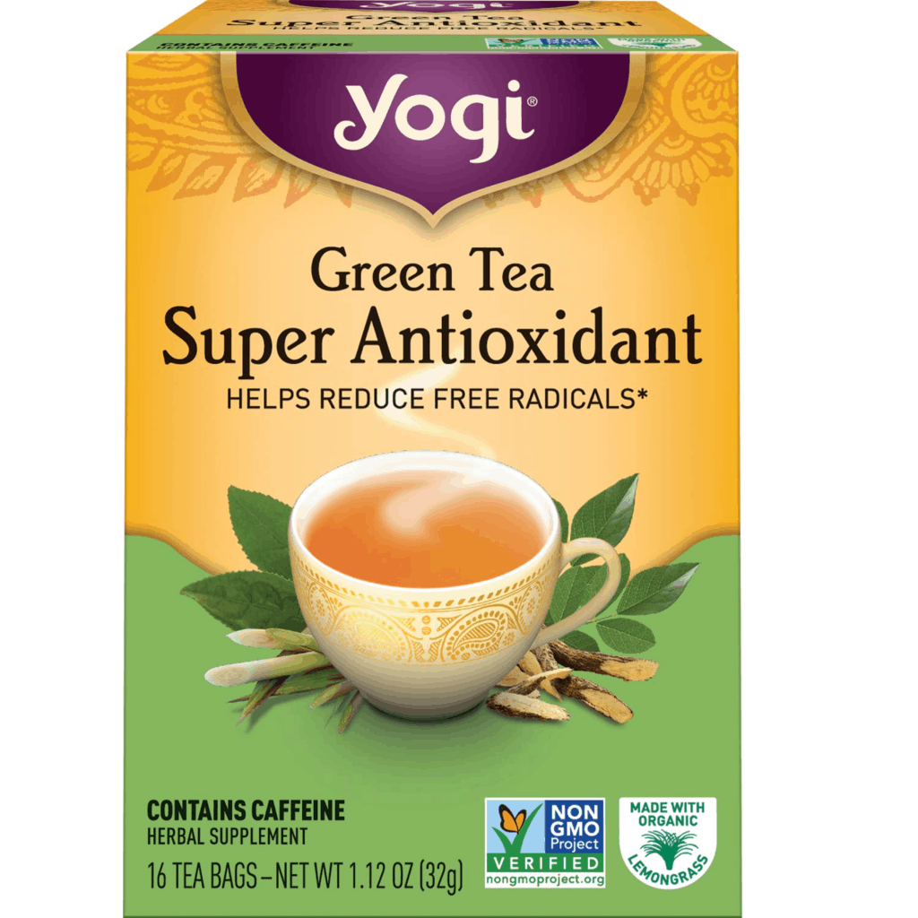 Yogi Tea Organic Green Tea Super Antioxidant
