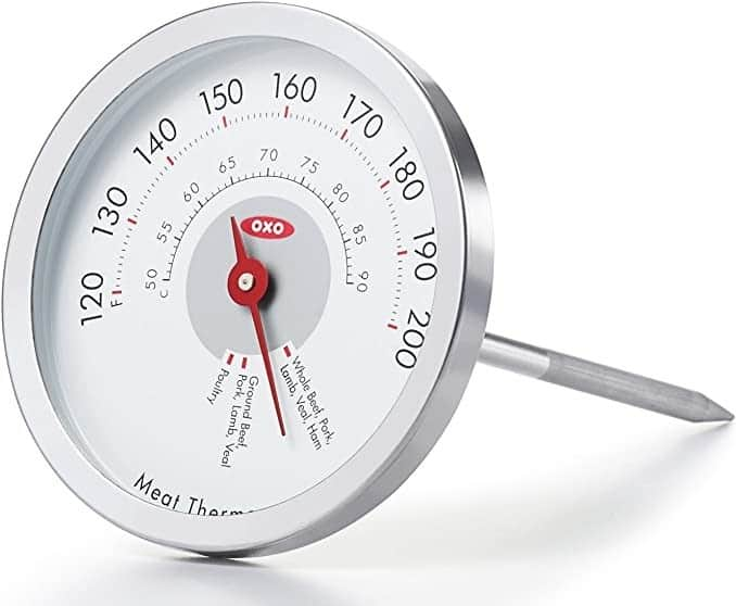 Chef's Precision Analog Leave-In Meat Thermometer