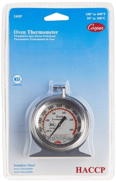 Cooper-Atkins 24HP-01-1 Oven Thermometer
