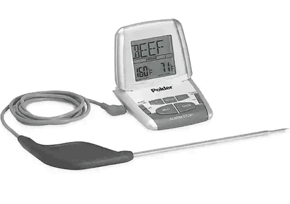Deluxe Preset Oven Cooking Thermometer