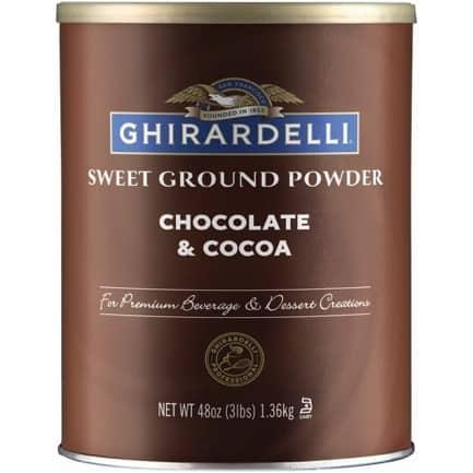 Ghirardelli Ground Hot Chocolate 3 lb.