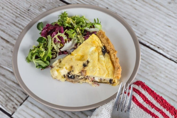 How to Reheat Quiche