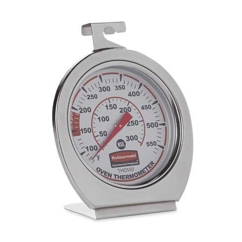 Rubbermaid FGTHO550 Stainless-Steel Oven Thermometer