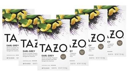 Tazo High Caffeine Earl Grey
