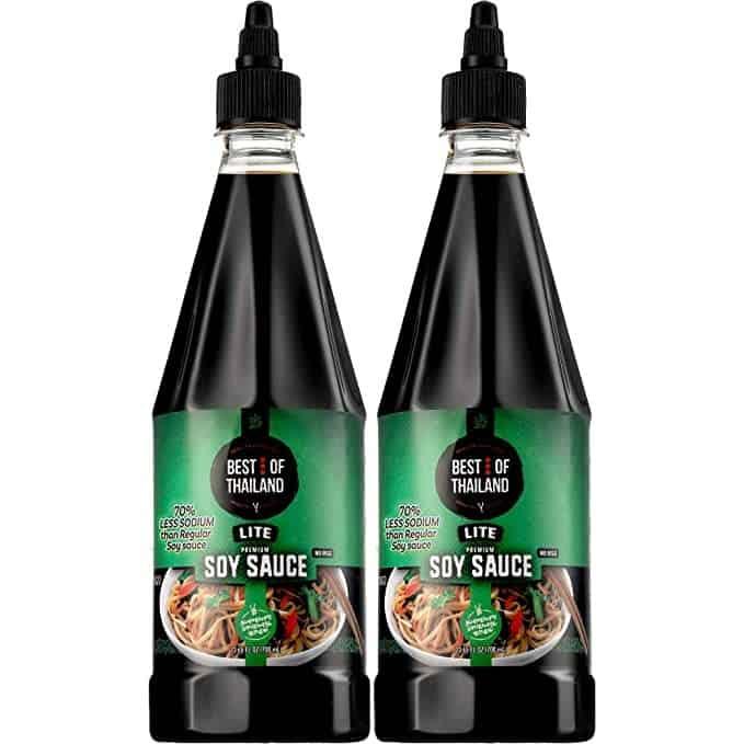 Best of Thailand Premium Lite Soy Sauce Low Sodium