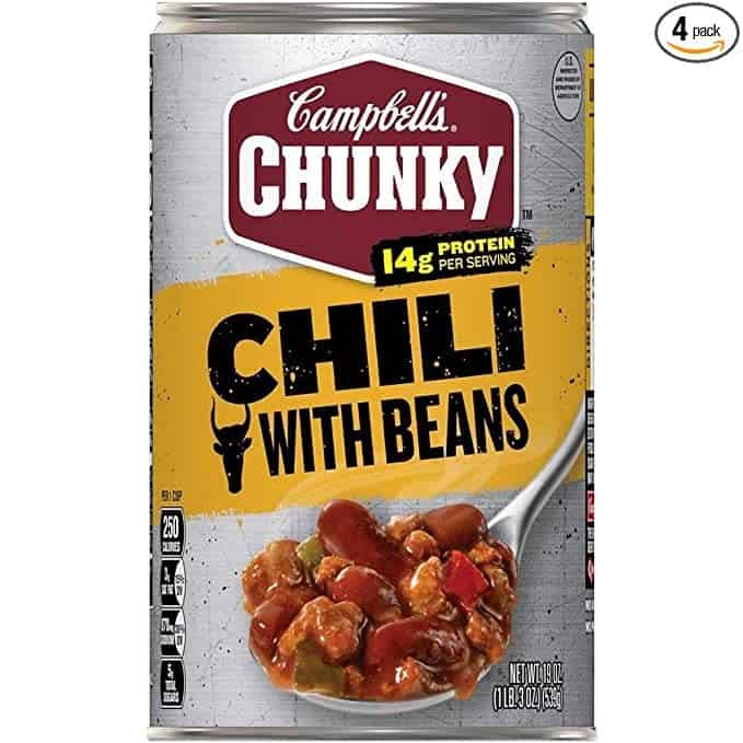 Campbell's Chunky Chili, with Bean