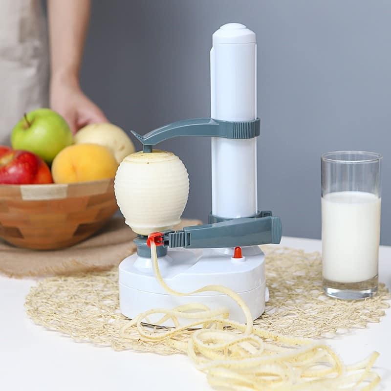 Electric apple peeler
