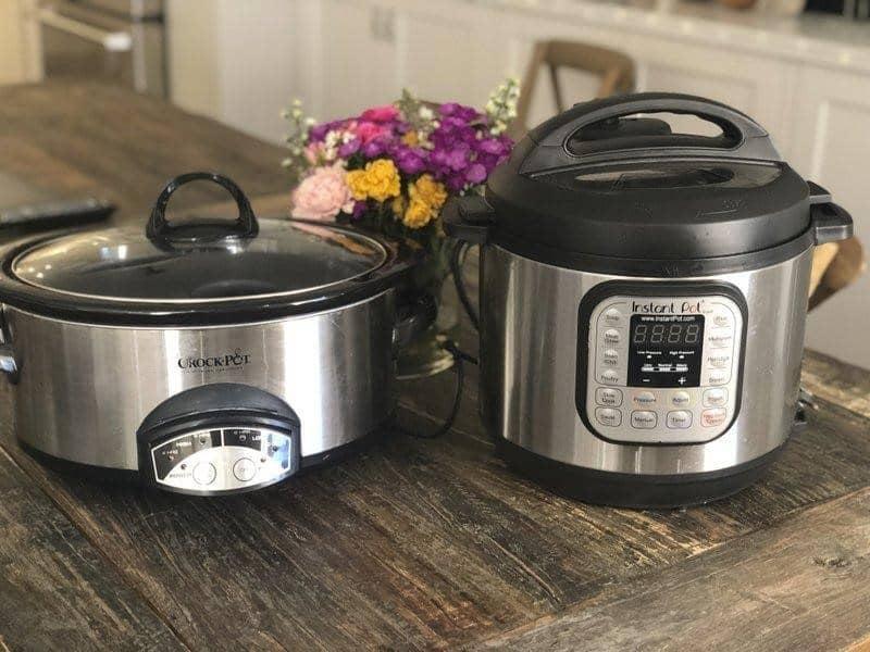 Instant Pot vs Crock Pot