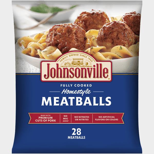 Johnsonville Homestyle Meatballs