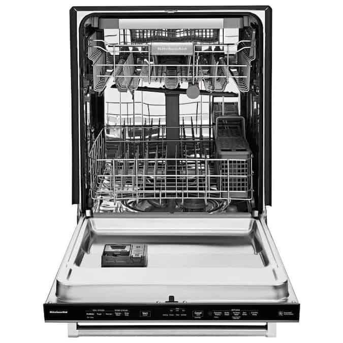 KitchenAid KDTE334GPS Dishwasher Inner View