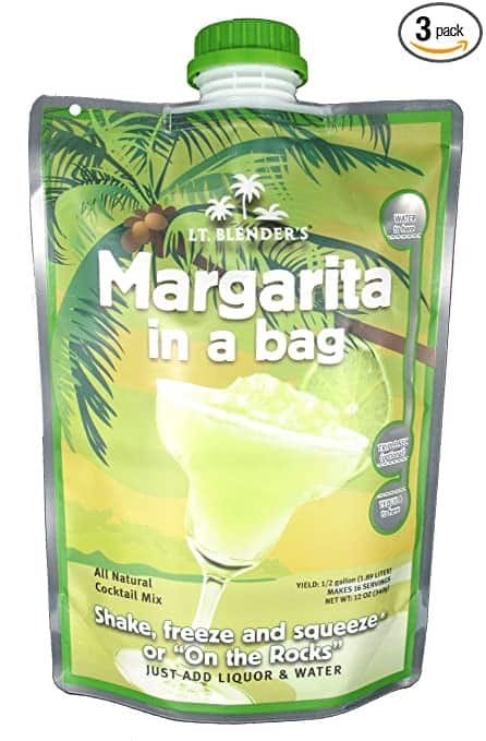 Lt. Blender's Margarita in a Bag