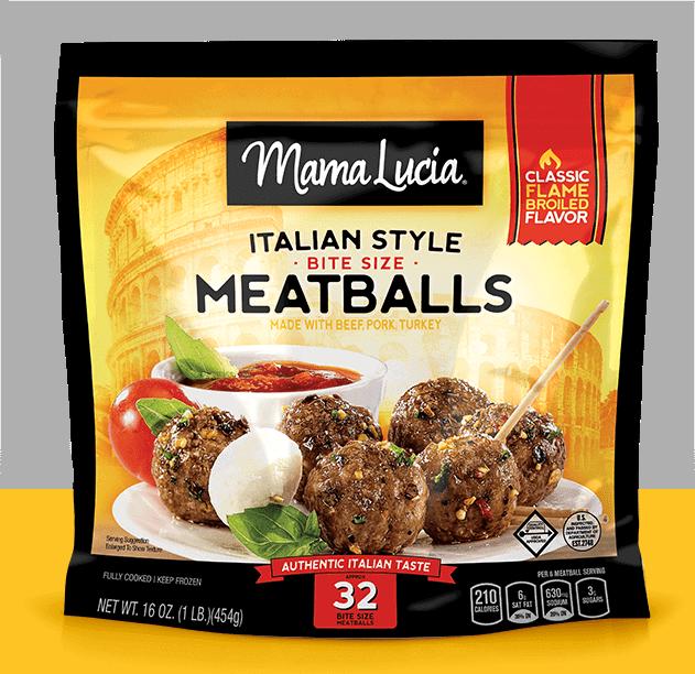 Mama Lucia Italian Style Bite-Size Meatballs