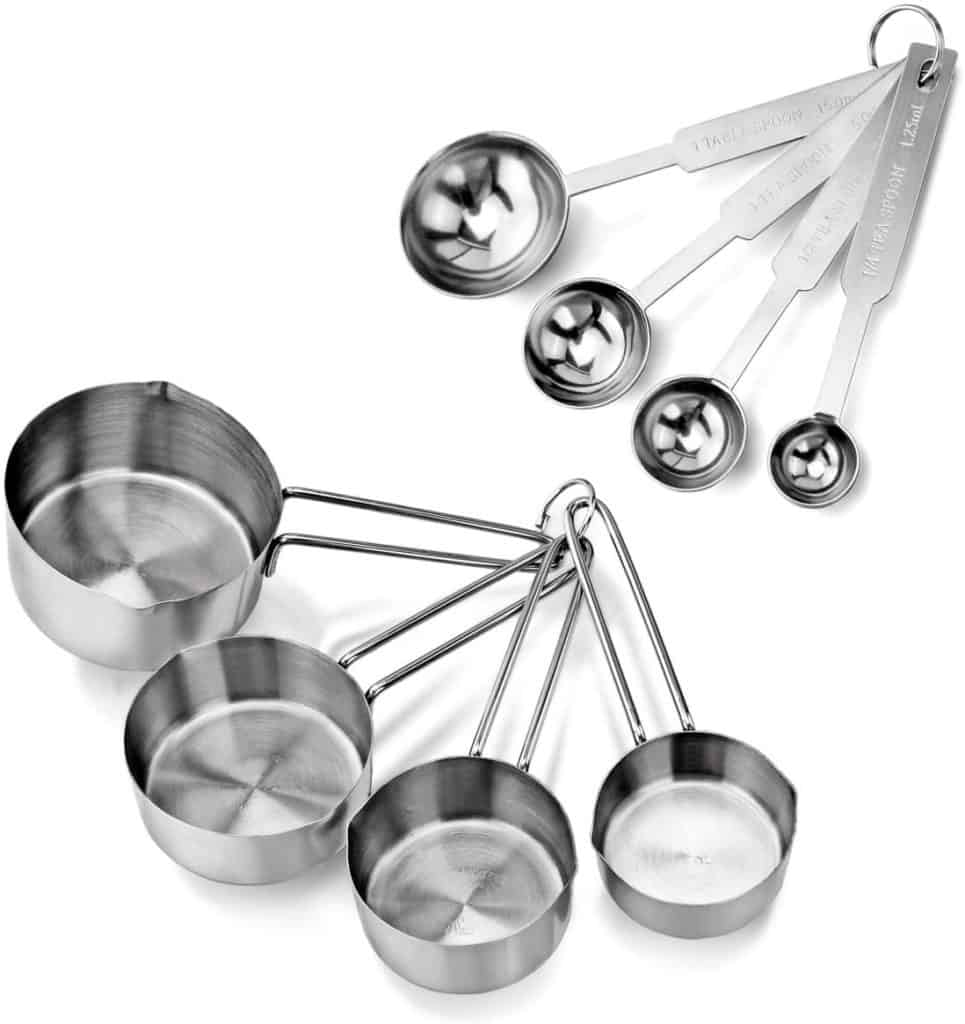 New Star Food Service Measuring Cups and Spoons