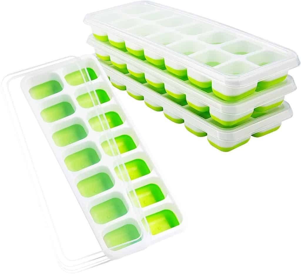 OMorc 4-pack Ice cube Trays