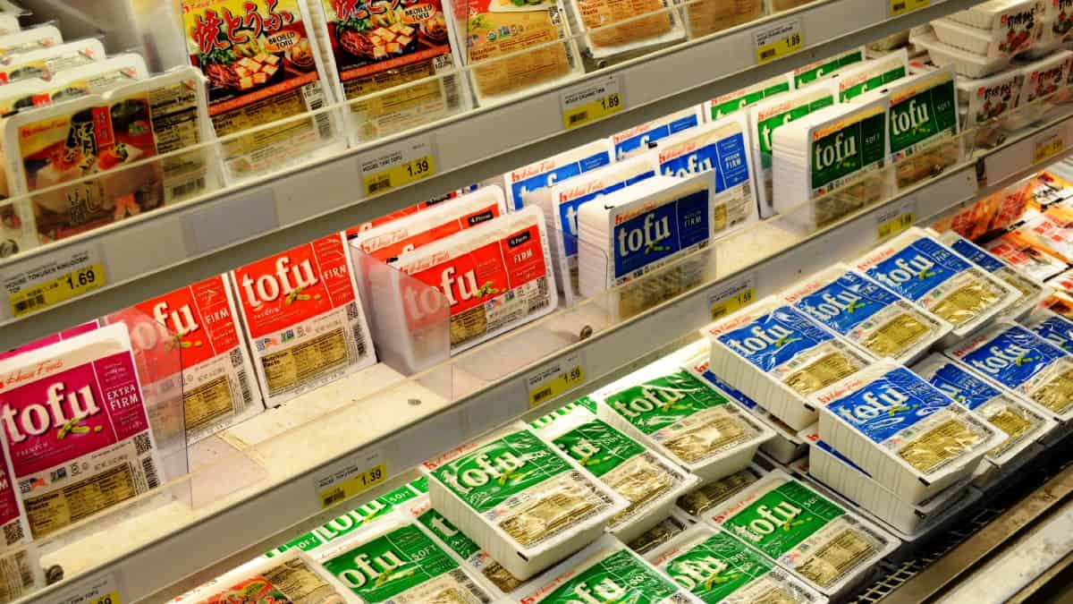 Refrigerated tofu