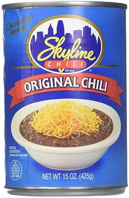 Skyline Canned Chili Pack