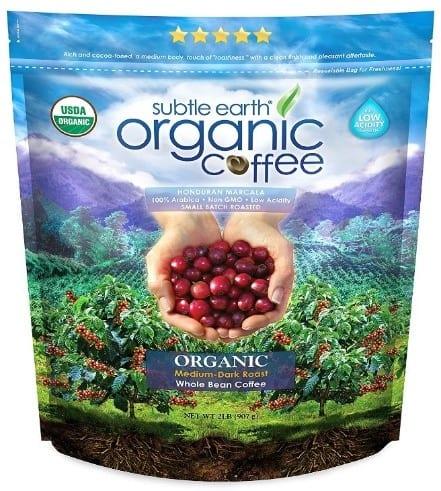 2LB Subtle Earth Organic Coffee