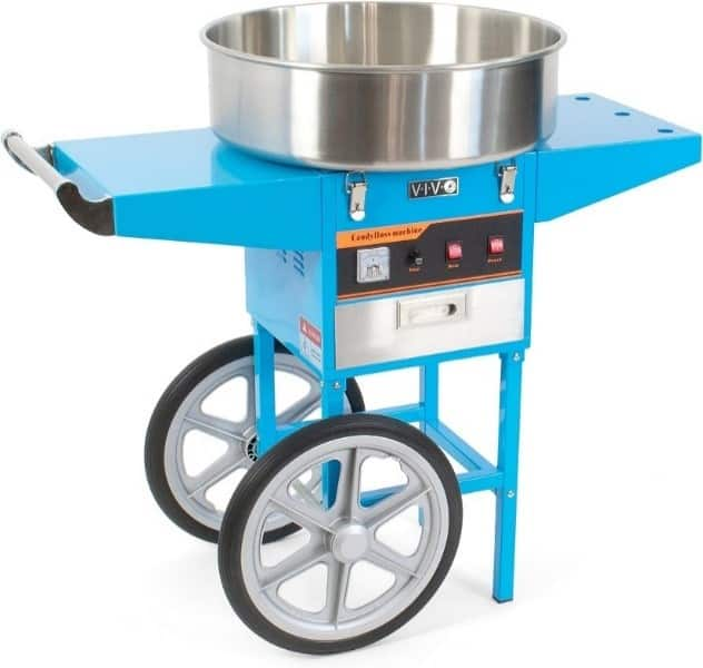 Best VIVO - VIVO Blue Electric Commercial Cotton Candy Machine