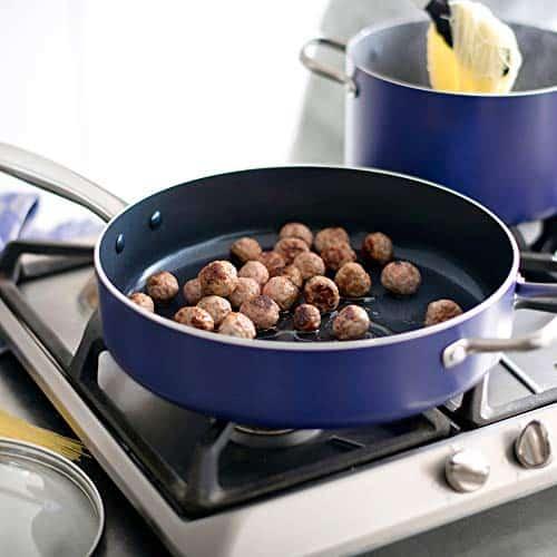 Blue Diamond cooking