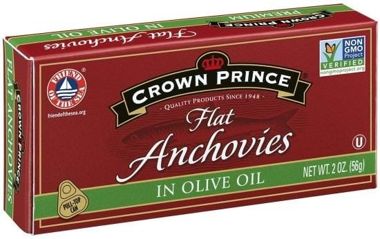 Crown Prince Anchovy Fillets