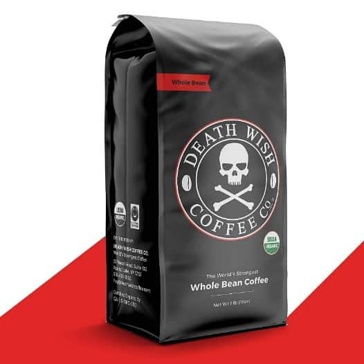 Death Wish Coffee World's Strongest Coffee