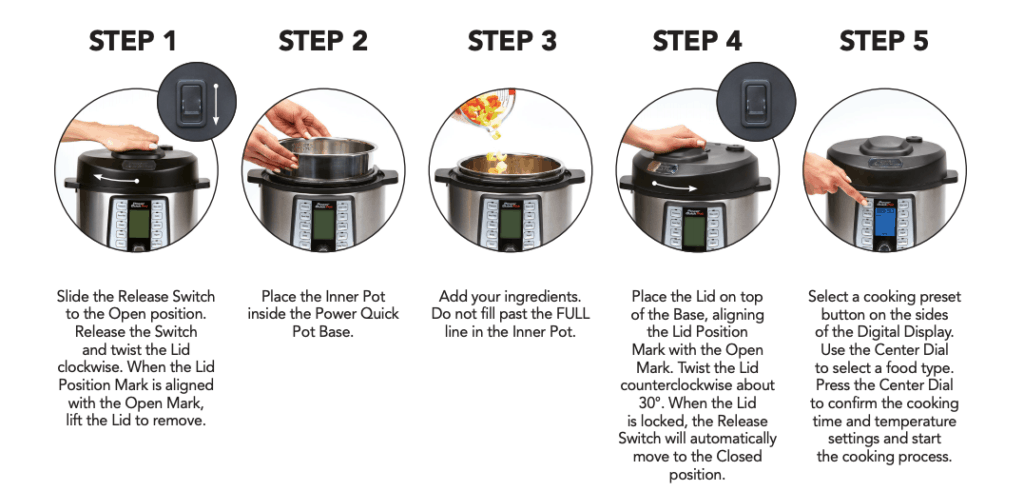 Differences between an Instant Pot and a Power Quick Pot