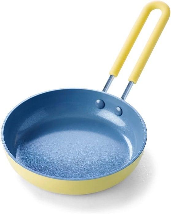 GreenPan Mini Healthy Ceramic Nonstick Yellow Pan
