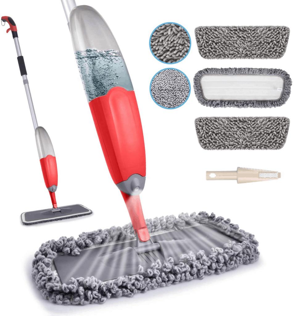 HOMTOYOU Microfiber Spray Mop