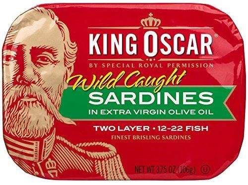 King Oscar Sardines in EVOO