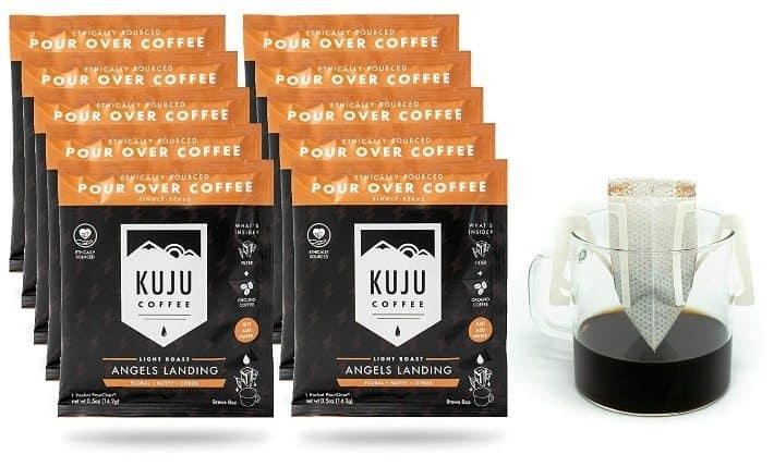 Kuju Coffee Premium Single-Serve Pour-Over Coffee