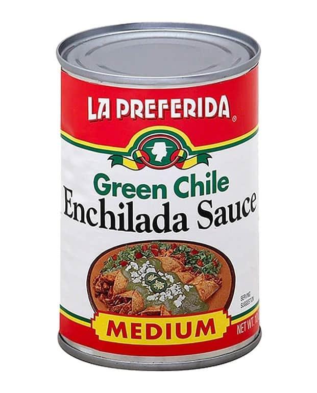 La Preferida Green Chile