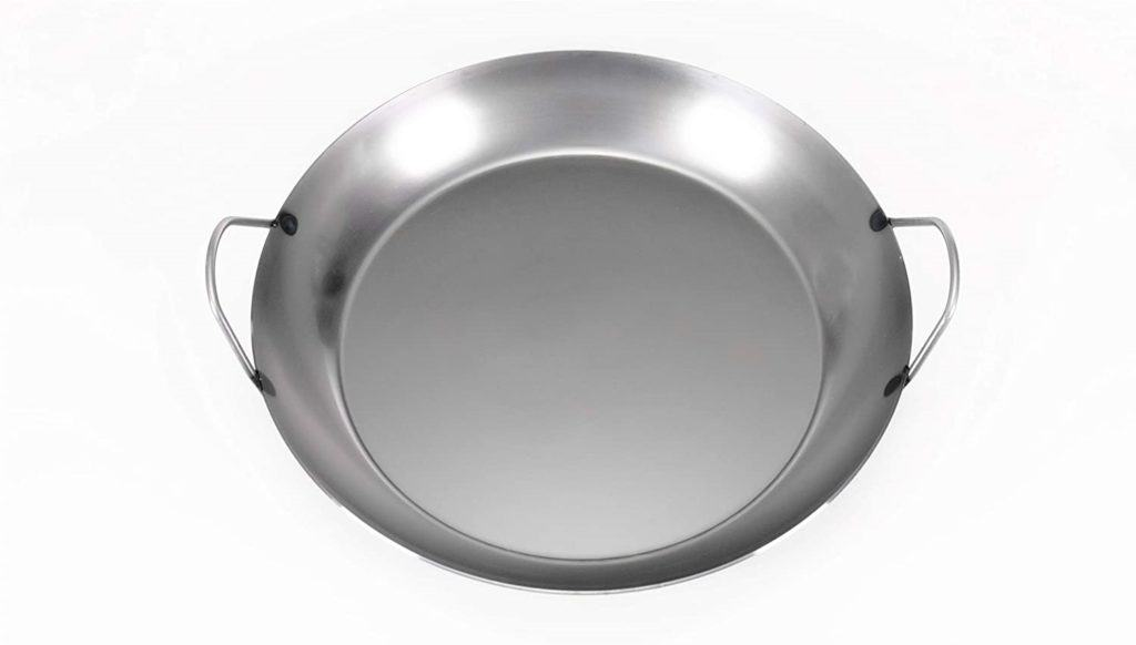 Matfer Bourgeat Black Steel Paella Pan