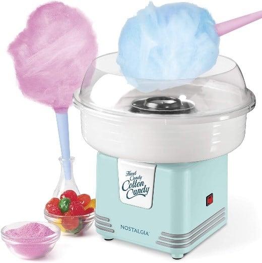 Nostalgia Hard & Sugar-Free Candy Cotton Machine