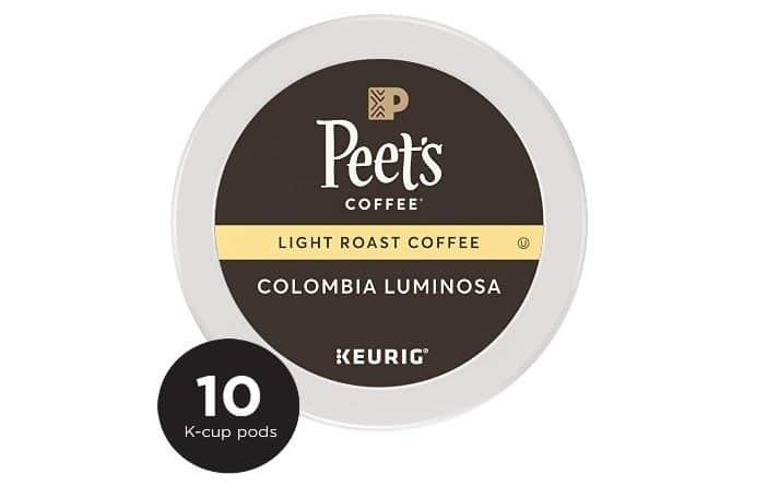 Peet's Coffee Luminosa Breakfast Blend Light Roast Ground Coffee