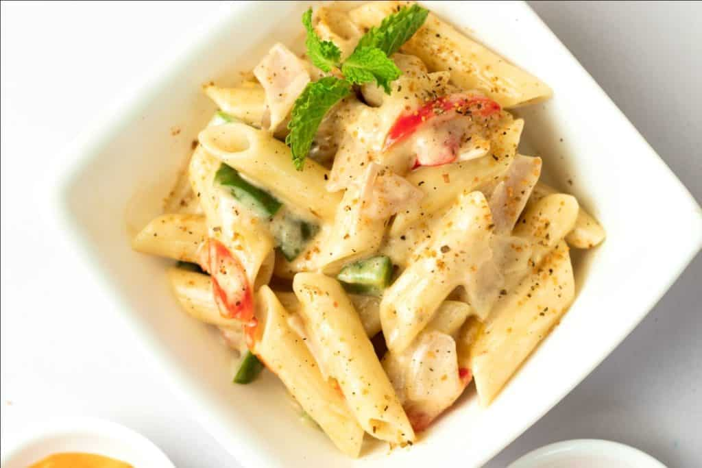 Penne Pasta in a Bowl