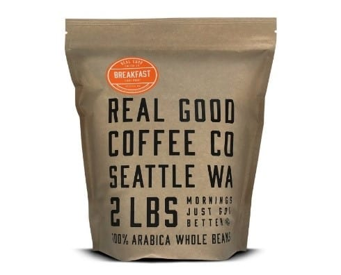 Real Good Coffee Co Whole Bean Coffee