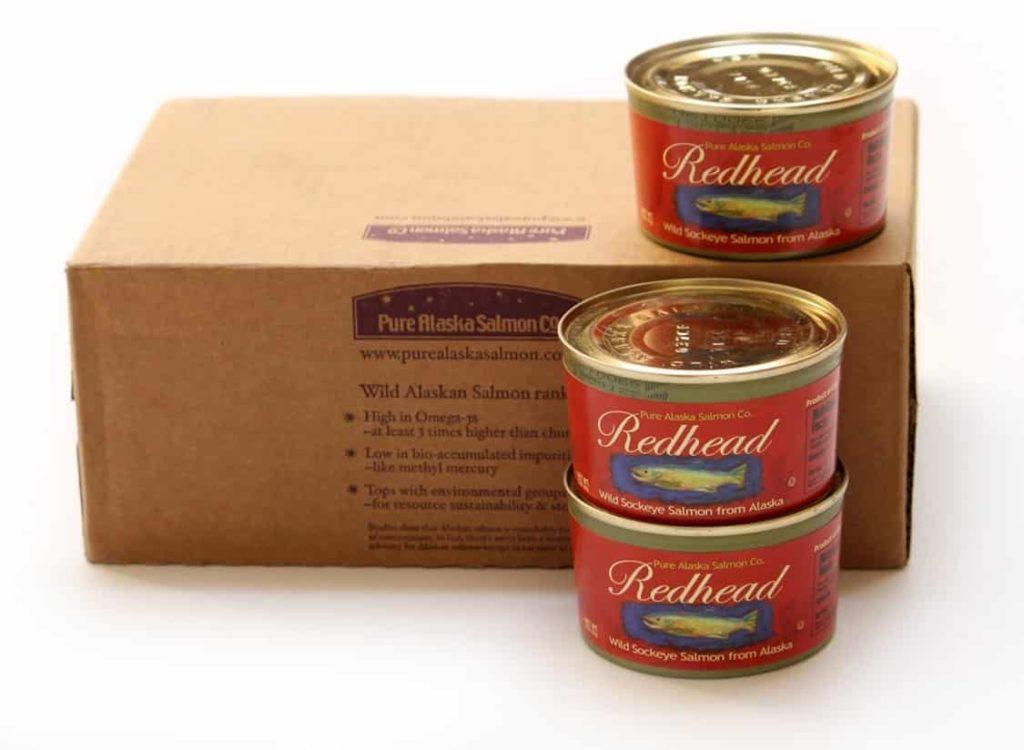 Redhead Wild Sockeye Salmon