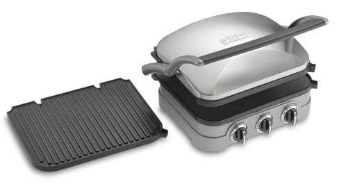 Removable plates on a panini press