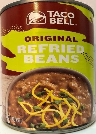 Taco Bell ORIGINAL REFRIED BEANS