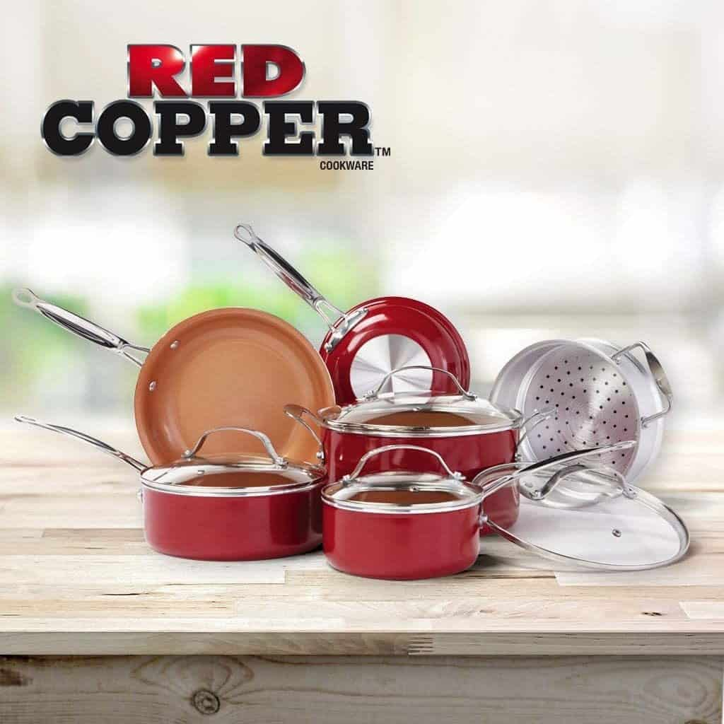 The Red Copper Pan
