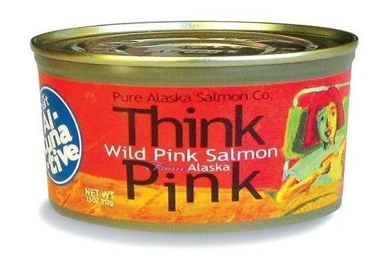 Think Pink Wild Alaska Pink Salmon