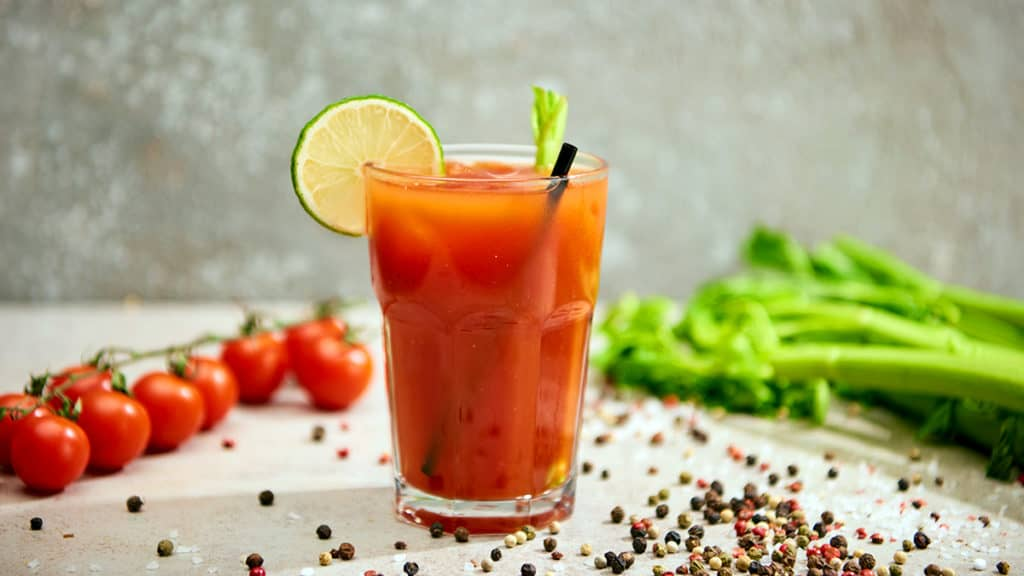 Tomato Juice and Chili Powder