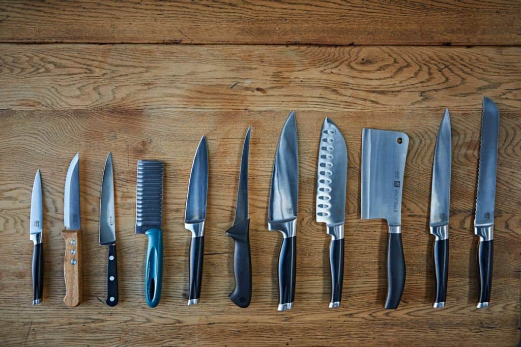 How to dispose of kitchen knives