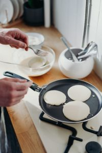 flapjacks vs pancakes in a griddle