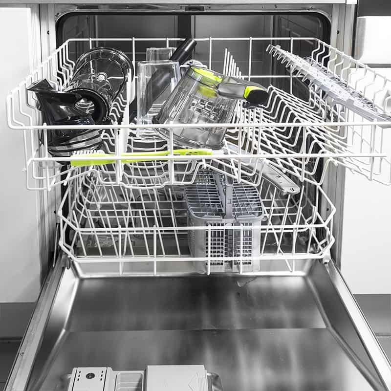Ninja blender in the dishwasher