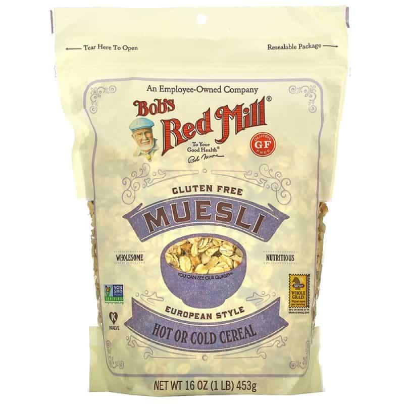 Bob's Red Mill gluten-free muesli