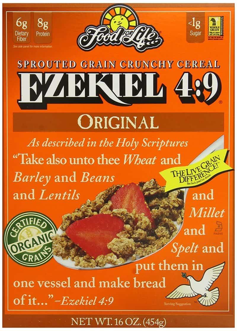 Ezekiel food for life whole grain cereal